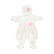 Комплект на выписку для девочки «Белоснежка» (розовый)